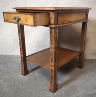 Pair of Burr Walnut End Tables Iain James Fine Furniture (9 of 9)