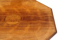 19th Century Rosewood Octagonal Centre or Window Table Occasional Side (4 of 6)