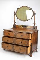 Oak Chinoiserie Dressing Chest of Drawers (2 of 13)