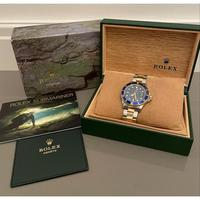18ct Yellow Gold & Steel Rolex Submariner Blue Dial (6 of 6)