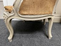 Pair of French Bergere Chairs Original Finish (12 of 14)