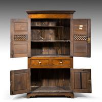 Quite Exceptionally Fine Late 18th Century Oak Cupboard (3 of 6)
