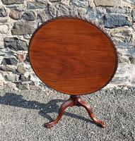 Chippendale Carved Bird-cage Tripod Table (2 of 8)
