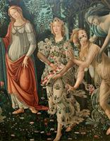 After Sandro Botticelli Large 20th Century Old Master Framed Coloured Print (8 of 13)