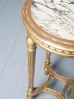 Antique Louis XV Style Giltwood Occasional Table (5 of 8)