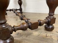 Antique Country Oak Dining Table (8 of 10)