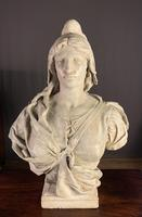 Substantial Size French Plaster Bust Marianne - Liberty (11 of 12)