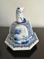 Imposing 19th Century Dutch Delft Blue & White Vase & Cover (11 of 15)