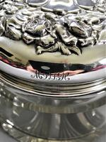 Sterling Silver Topped Dressing Table Jar (4 of 8)