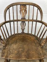 Pair of Antique Windsor Armchairs (5 of 9)