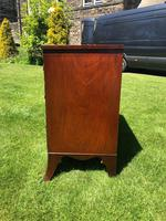 George III Small Mahogany Bow Front Chest of Drawers (9 of 11)