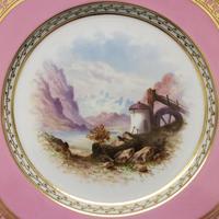 Superb Davenport Cabinet Plate c.1870 (2 of 7)
