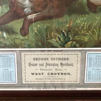Victorian Grocer Advertising Calendar 1889 - Croydon Interest (5 of 11)