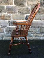 Antique Ash & Elm Windsor Armchair (6 of 10)