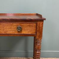 Regency Mahogany Antique Side Table (6 of 6)