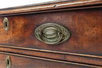 18th Century English Mahogany Chest of Drawers with Oversized Ogee Feet (6 of 6)