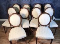 Set of Ten Mahogany Dining Chairs (6 of 10)