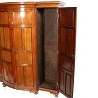 Mahogany Breakfront Hall Wardrobe (5 of 8)