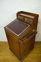 Victorian Mahogany Davenport attributed to Gillow (2 of 12)