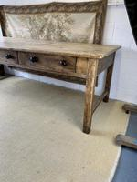 Superb Large 19th Century Pine Kitchen Table (6 of 10)