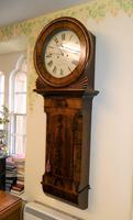 mahogany tavern clock / wall clock (3 of 6)
