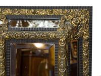 Flemish Cushion Frame Ebonised Mirror (3 of 4)