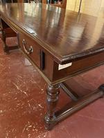 A Writing Desk With Turned Legs - Netherlands-19th Century (9 of 12)