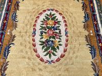 Vintage Chinese Silk Carpet 2.43m x 1.59m (5 of 11)