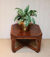 Low Walnut Art Deco Table (7 of 12)