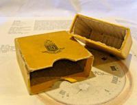 Antique Dennison Pocket Watch Box 1930s Original Presentation Protective Box (7 of 12)