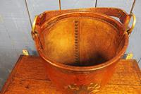 Antique Leather Fire Bucket (10 of 11)