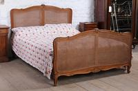 King Size Louis XV Style Caned Bed (6 of 9)