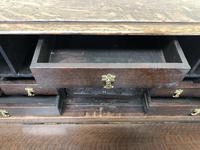 Antique Oak Carved Desk (7 of 13)
