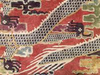 Antique Chinese Pillar Rug (11 of 13)