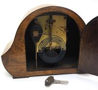 Art Deco Hat Shaped Mantel Clock – Striking 8-day Arched Top Mantle Clock (9 of 10)