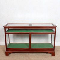 Shop Display Cabinet Glazed Mahogany 19th Century Glass (5 of 8)