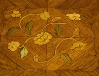 Suite of French Walnut & Floral Marquetry (19 of 20)