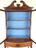 19th Century Glazed Mahogany Bookcase on Stand (8 of 10)