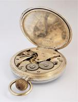 Antique Swiss Silver Pocket Watch, 1924 (4 of 5)
