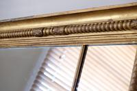 Gilt Framed Three Section Overmantle Mirror (8 of 19)