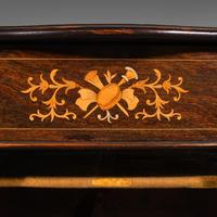 Antique Music Cabinet, English, Rosewood, Display Case, Inlay, Victorian c.1870 (11 of 12)