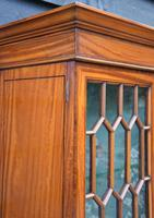 Exceptionally Fine Quality Edwardian Satinwood Display Cabinet c.1901 (15 of 20)