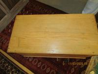 Victorian Pine Blanket Chest with Bracket Feet (5 of 5)
