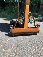 Antique Walnut Cheval  Dressing Mirror (4 of 8)