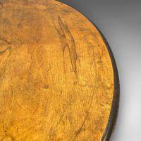 Antique Breakfast Table, English, Walnut, Mahogany, Tilt Top, Oval, Victorian (2 of 12)