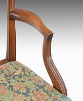 Attractive Set of 10 (8+2) Camel Backed Mahogany Framed Chairs (2 of 7)