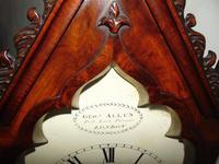 Regency Mahogany Gothic Bracket Clock (12 of 12)
