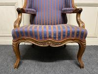 Comfortable French Wing Armchair (3 of 15)