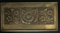 Aesthetic Movement Brass Repousse Box (6 of 7)