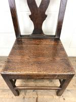 Set of Four 19th Century Oak Dining Chairs (8 of 10)